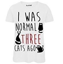 maglietta ero normale 3 gatti fa