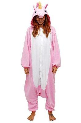 pigiama intero da uincorno rosa