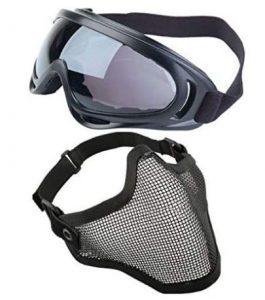 occhiali softair e maschera softair