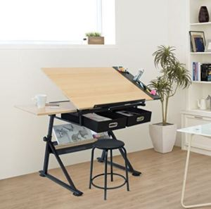 scrivania per chi ama disegnare