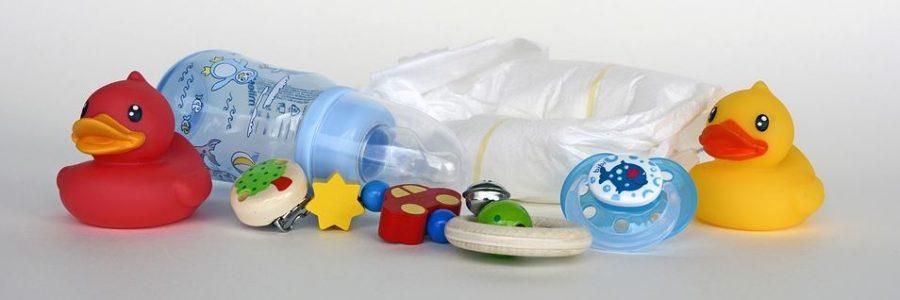 regalo donna incinta biberon paperelle