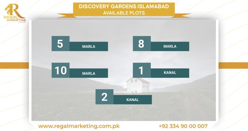 Discovery Gardens Islamabad Available Plots