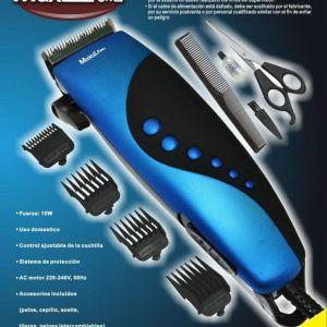 Maquinilla maquina corta pelos 8 accesorios recortador barba cabello corto mp-hc405