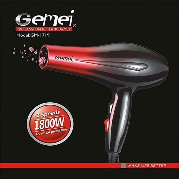 secador de pelo 1800w gemei GM-1719