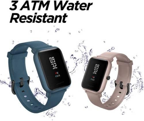 smartwach resistente al agua Amazfit