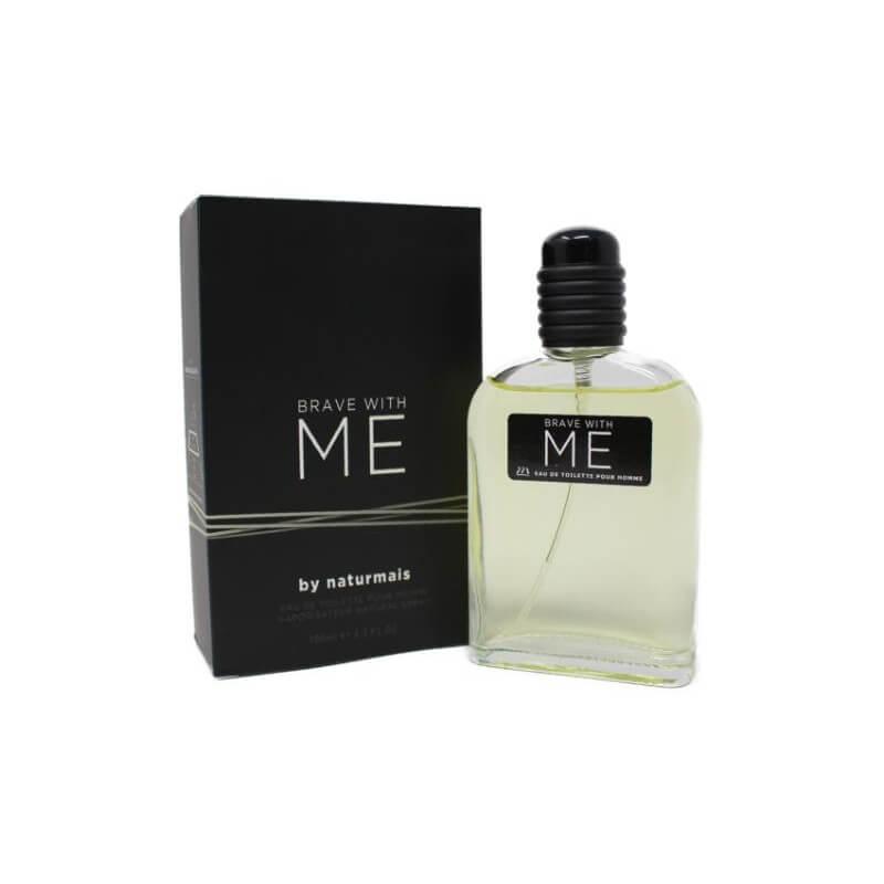 Perfume para hombre BRAVE WITH ME de NATURMAIS 100 ml