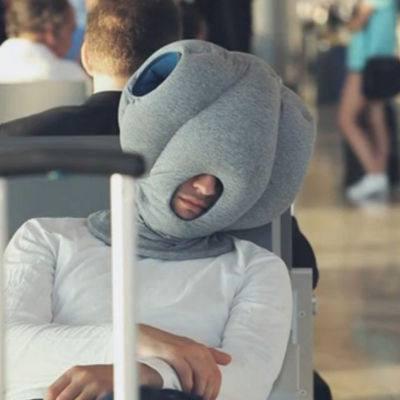 almohada avestruz