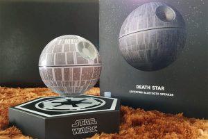 Parlante estrella de la muerte flotante de star wars