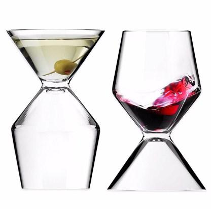 Asobu Vino Tini vaso mitad martini mitad copa de vino