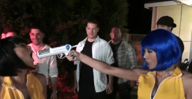 pistola ára disparar alcohol