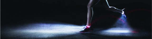 zapatillas con luces led night runner 270
