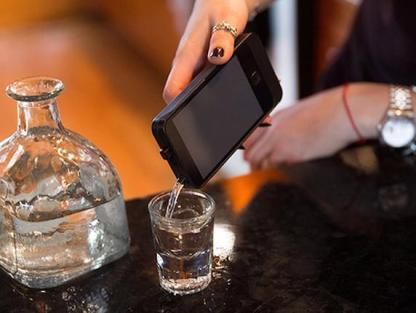 iflask weku frasco en forma de celular