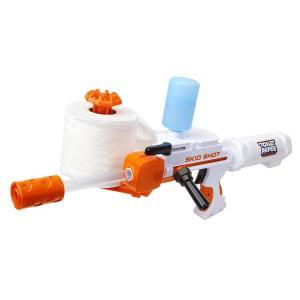 pistola dispara papel higienico Toilet Paper Blaster Skid Shot