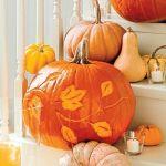 Tallar calabazas de Halloween fácil para decorar fiestas