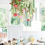 Arreglos florales colgantes para bodas: ¡son tendencia!