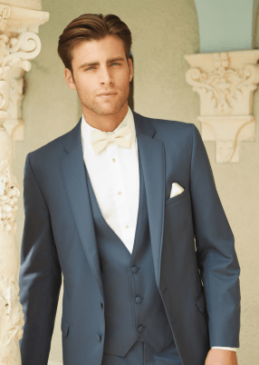 Blue Slate Allure Slim Fit by Allure Men
