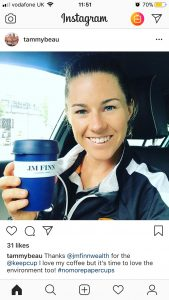 Tammy Beaumont sponsorship with JM FInn