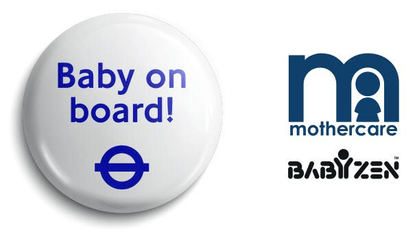 TFL baby on board Sponsorship with Mothercare and Babyzen brokered by Reg & Co Sponsorship Agency