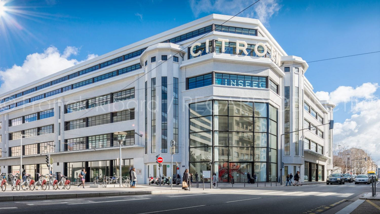 photographie de franck ribard - regard objectif - photographe architecture lyon - Citroën Lyon