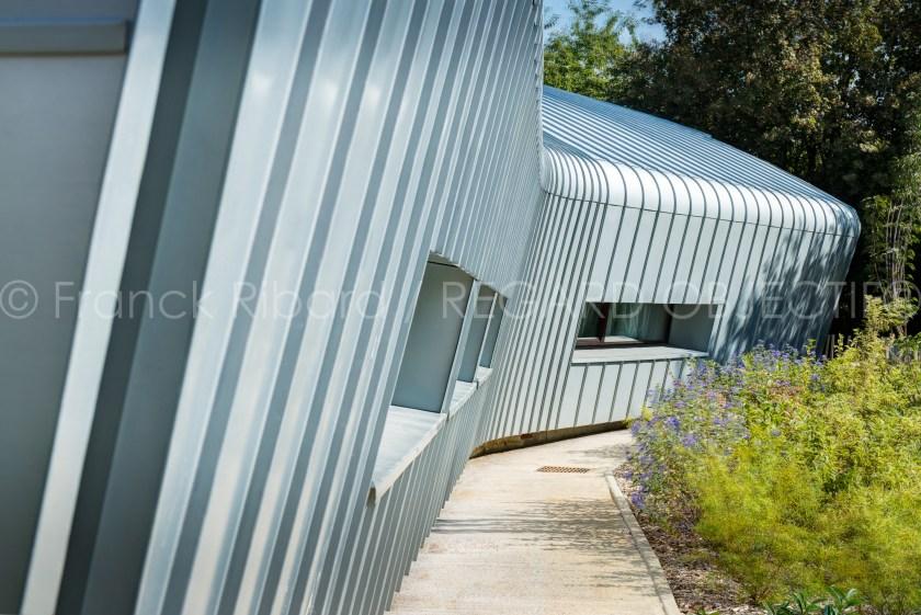 photographie de franck ribard - regard objectif - photographe architecture lyon - Rheinzink