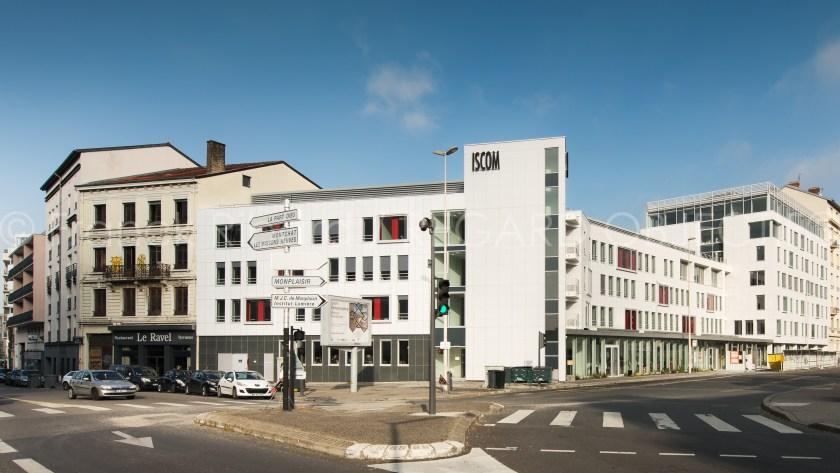 photographie de franck ribard - regard objectif - photographe architecture lyon - ISCOM Lyon