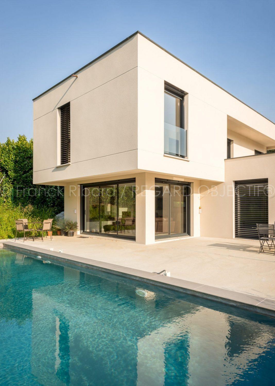 photographie de franck ribard - regard objectif - photographe architecture lyon - Maison individuelle - SGB construction