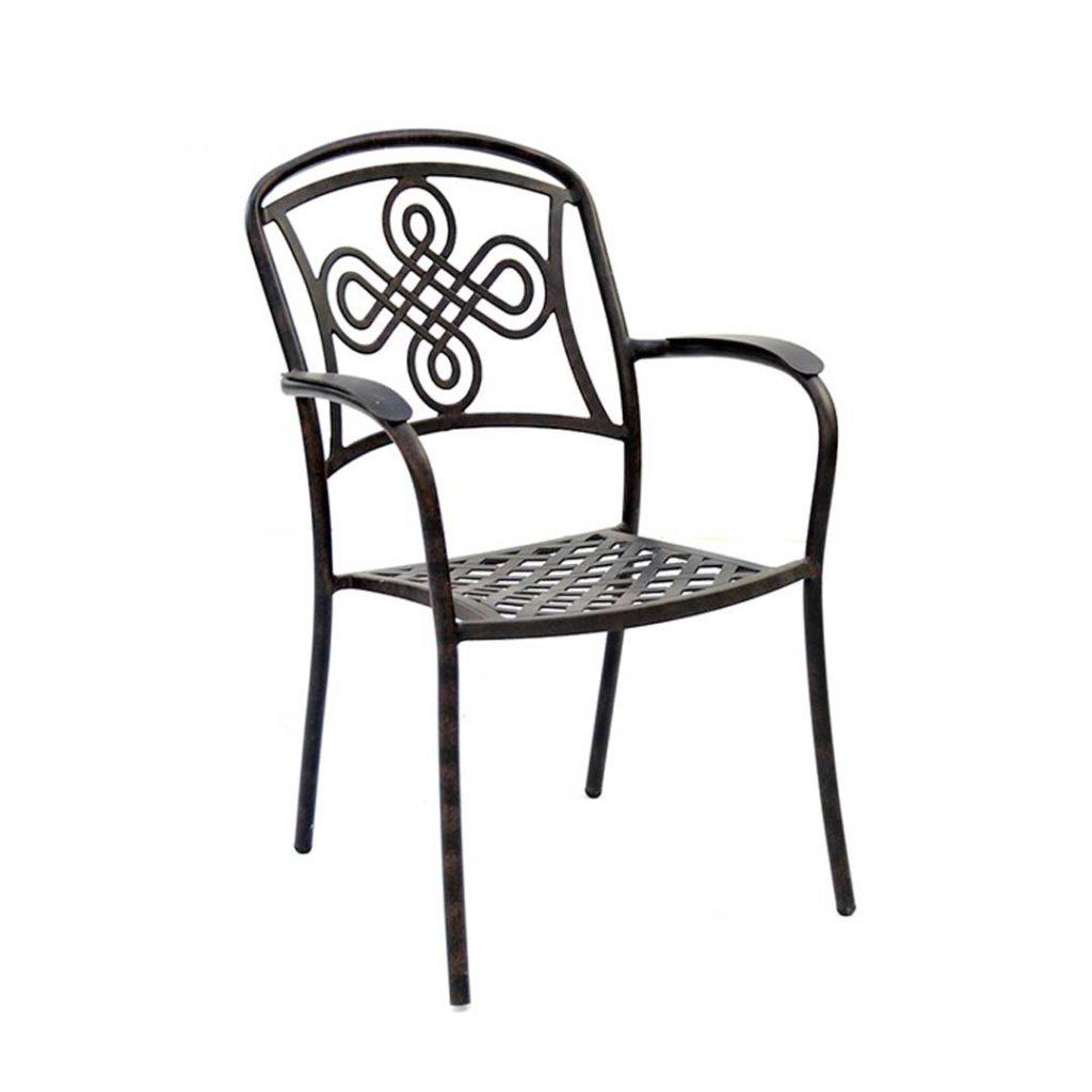 Brompton Cast Aluminium Dining Armchair