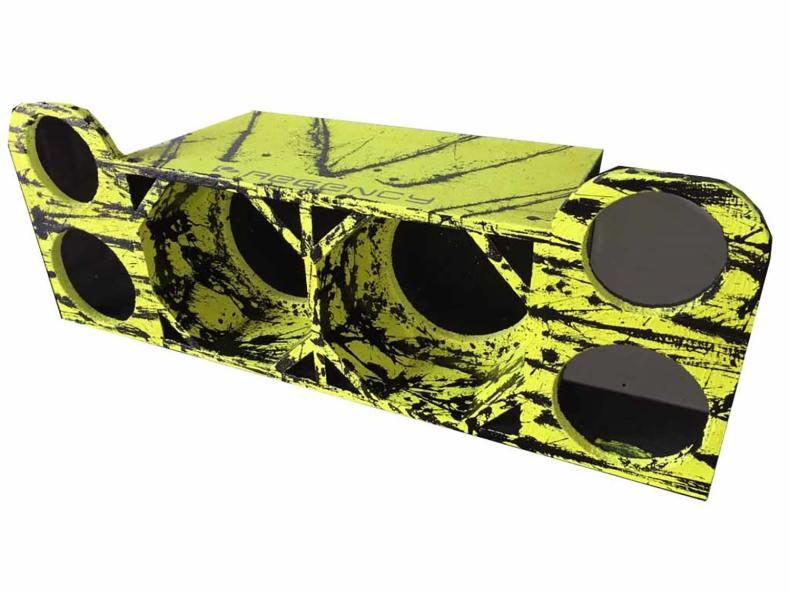 """Cod 480 - Box Canhão 2x8"""" Cornetada"""