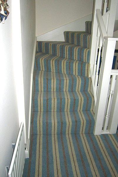 En Trend Modern Neopolitan Stripe Carpet Fitted In Arundel   Carpet For Stairs And Hallway   Living Room   Low Pile   Contemporary   Country Style   Quirky