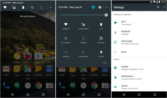 Open Android Setttings