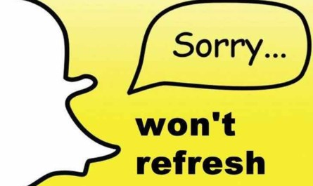 Snapchat Could Not Refresh