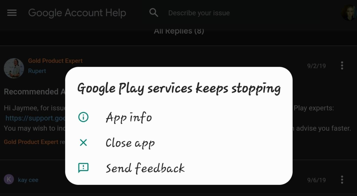 How To Fix Google Play Services Keeps Stopping - REGENDUS