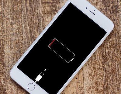 iPhone Battery Run Out