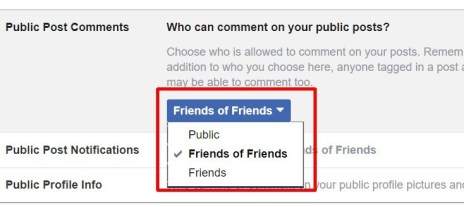 You Who Can Comment On Your Facebook Post
