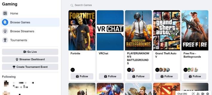 Best Twitch Alternatives: Facebook Gaming