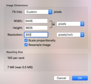 How To Check DPI Of An Image on Mac