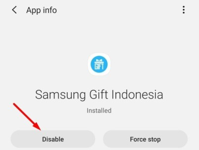 Disable apps on android