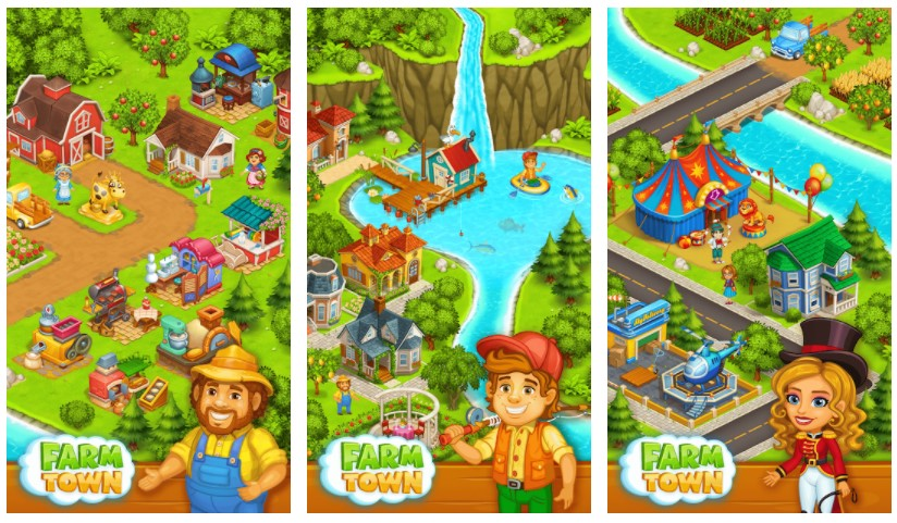 Farm Town Happy Farming Day