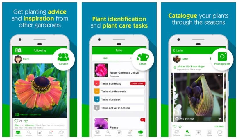 Best Gardening Apps: Garden Tags