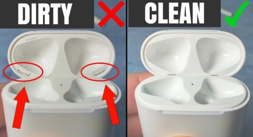Clean the AirPods and the Case