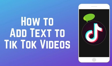 How to Add Text on a TikTok Video