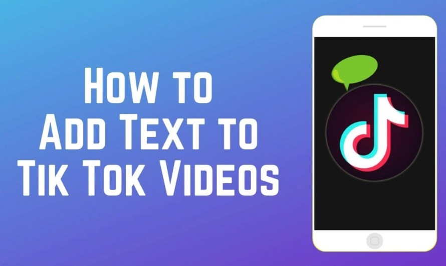 How to Add Text on a TikTok Video: Everything You Need to Do