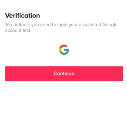 You will have to go through a verification process. If you previously used SMS verification on TikTok account