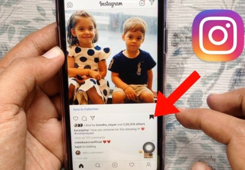 bookmark a post on Instagram