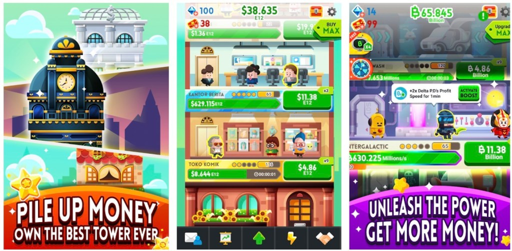 Cash, Inc. Money Clicker
