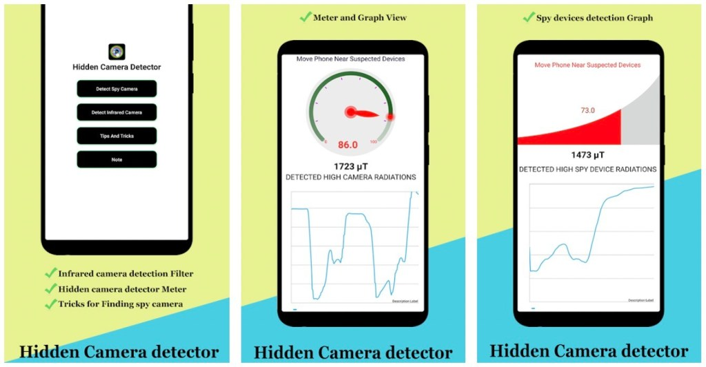 Hidden Camera Detector – Spy Camera Finder