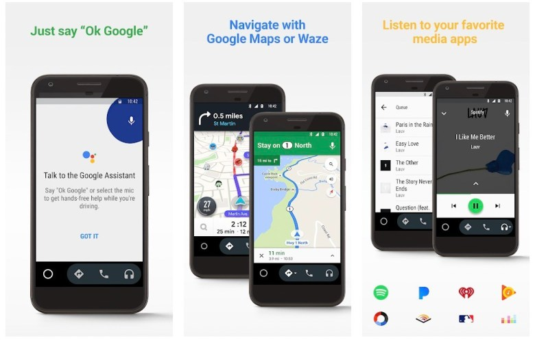 Best MirrorLink Apps: Android Auto