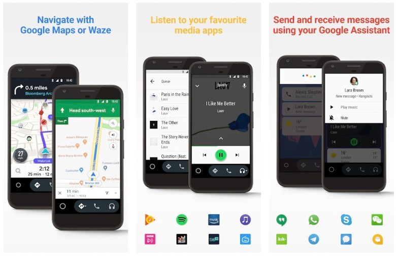 Best Driving Apps: Android Auto