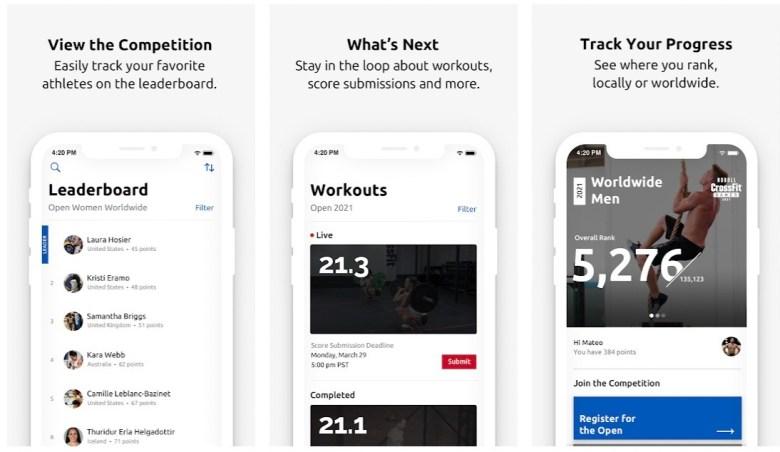 Best WOD / CrossFit Apps: CrossFit Games