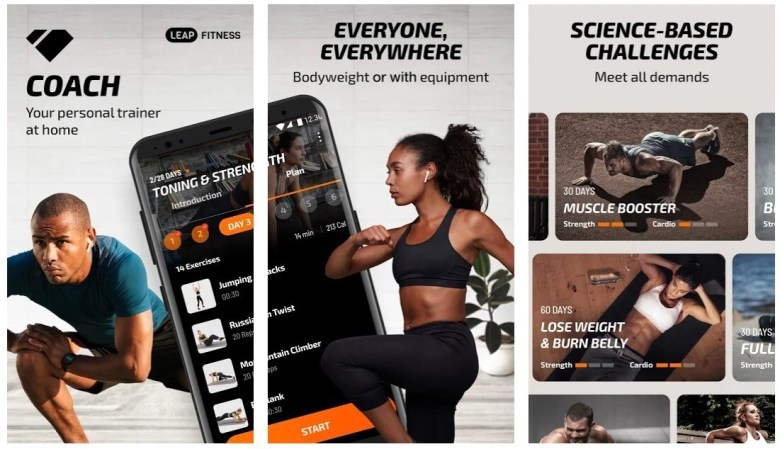 Fitness Coach & Workout Planner